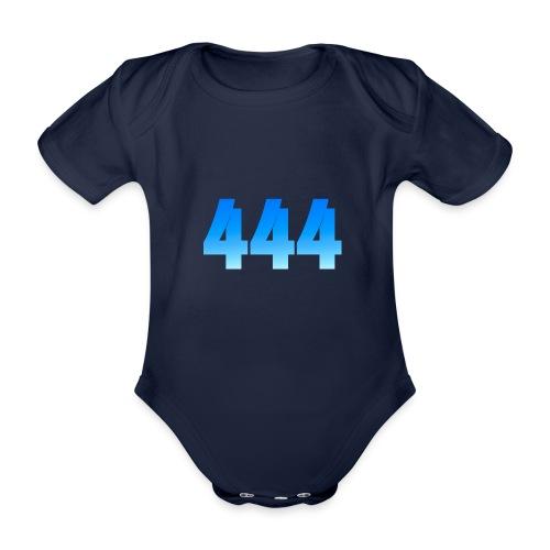 444 annonce que des Anges vous entourent. - Body Bébé bio manches courtes