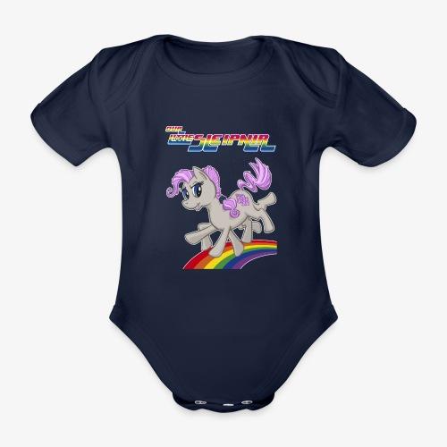 Sleipnir - Ekologisk kortärmad babybody