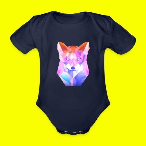 Nemirion Logo - Baby bio-rompertje met korte mouwen