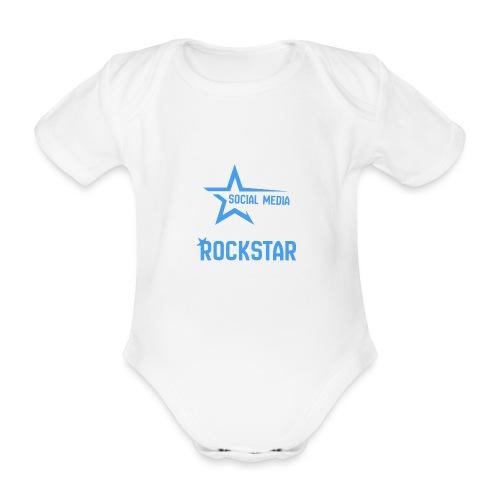 Social Media Rockst*r - Baby Bio-Kurzarm-Body
