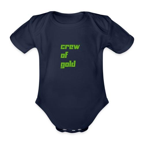 crew - Body ecologico per neonato a manica corta