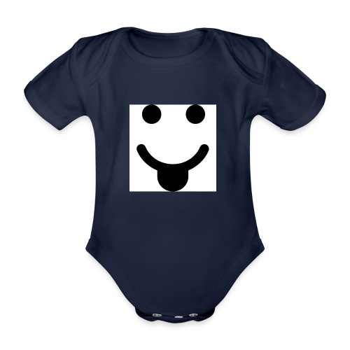 smlydesign jpg - Baby bio-rompertje met korte mouwen