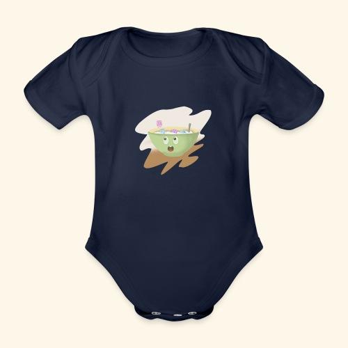 Milk party - Body orgánico de maga corta para bebé