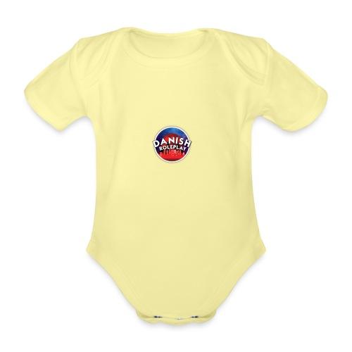 DanishRP New Logo - Kortærmet babybody, økologisk bomuld