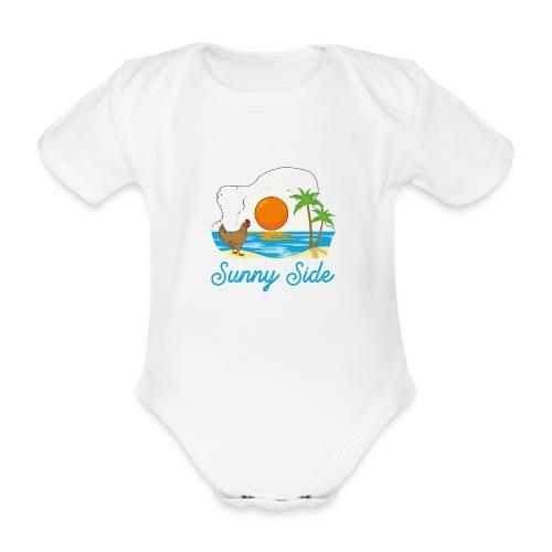 Sunny side - Body ecologico per neonato a manica corta