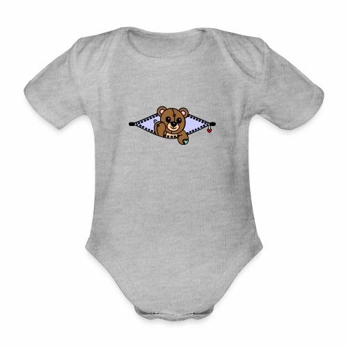 Bärchen - Baby Bio-Kurzarm-Body
