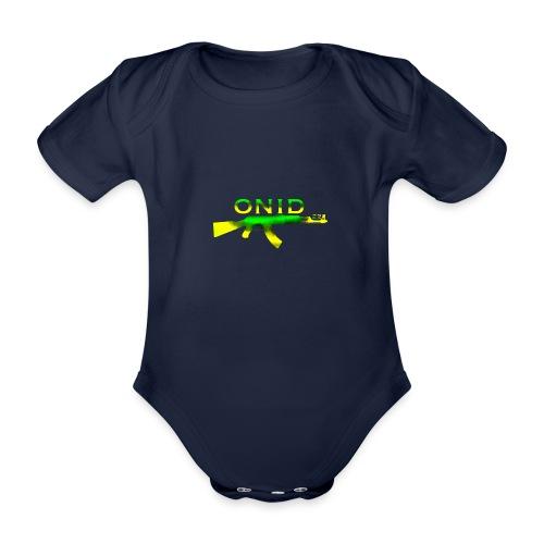 ONID-22 - Body ecologico per neonato a manica corta