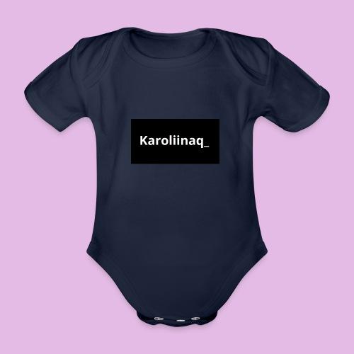 Karoliinaq_ - Vauvan lyhythihainen luomu-body