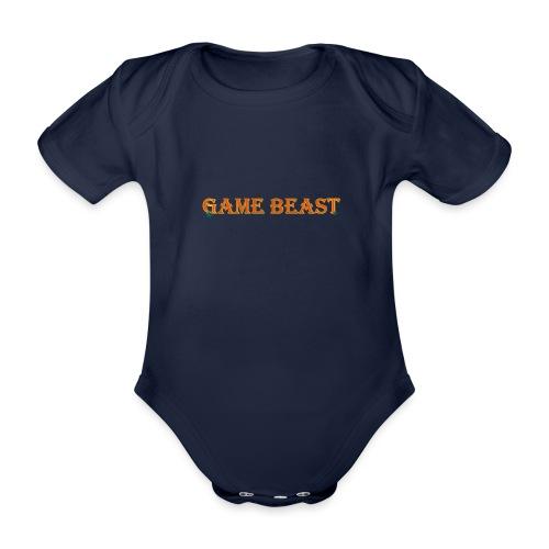 BEASTBOY - Baby bio-rompertje met korte mouwen