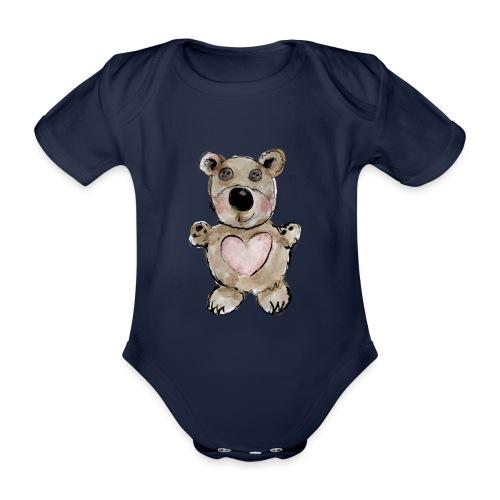 Bärlibär - Baby Bio-Kurzarm-Body