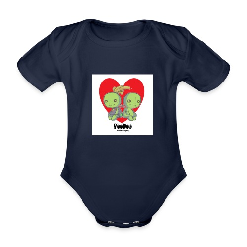 bhnvdloove-png - Body orgánico de maga corta para bebé
