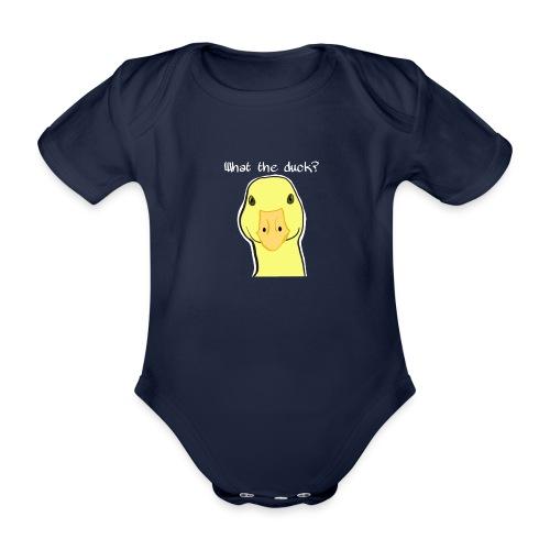 Duck you - Vauvan lyhythihainen luomu-body