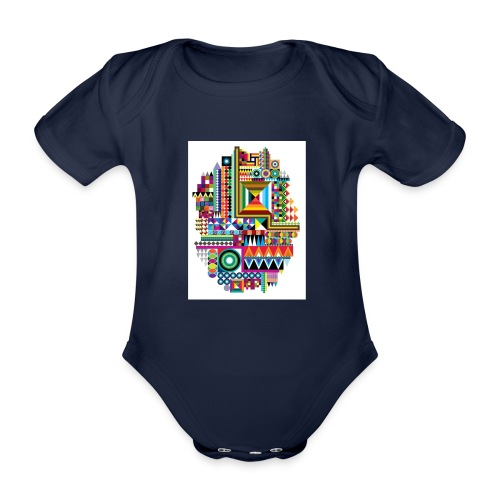 Love Tribe - Organic Short-sleeved Baby Bodysuit