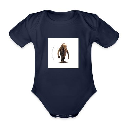 button hempel weiss - Baby Bio-Kurzarm-Body