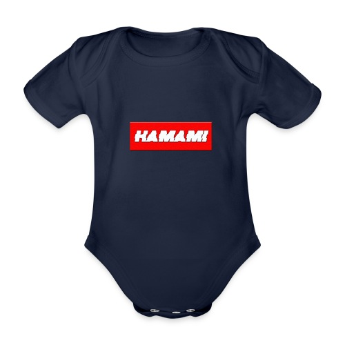 HAMAMI - Body ecologico per neonato a manica corta