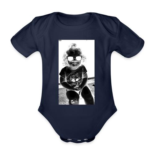 D3 - Organic Short-sleeved Baby Bodysuit