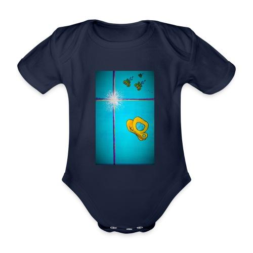'Toivo Kultaisessa-leikkauksessa' - Vauvan lyhythihainen luomu-body