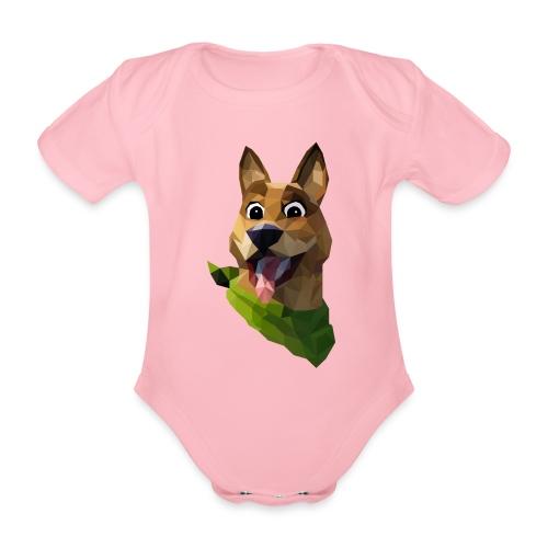 LOW POLY DOGO - Body Bébé bio manches courtes