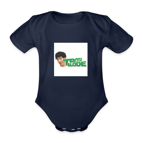 spillette - Body ecologico per neonato a manica corta
