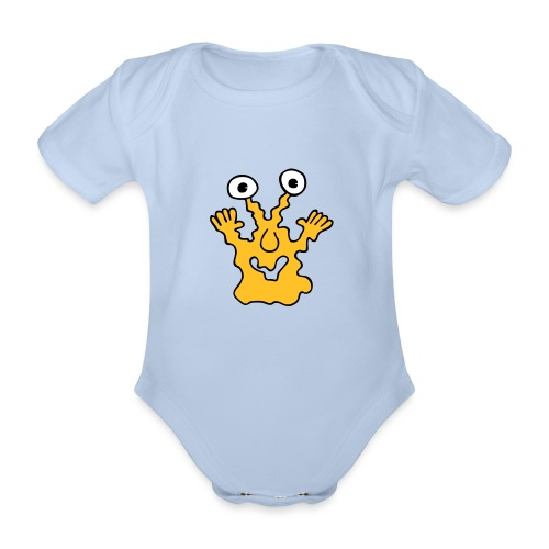 monster10 1 - Baby Bio-Kurzarm-Body