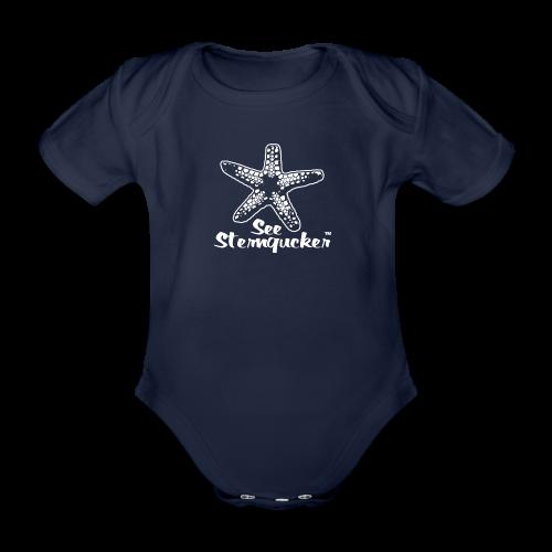 Seesterngucker - Baby Bio-Kurzarm-Body