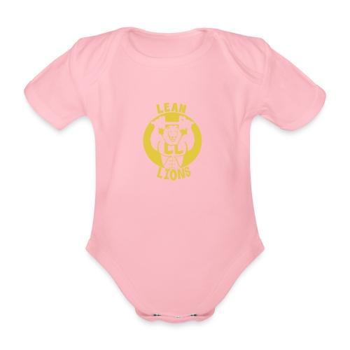 Lean Lions Merch - Organic Short-sleeved Baby Bodysuit
