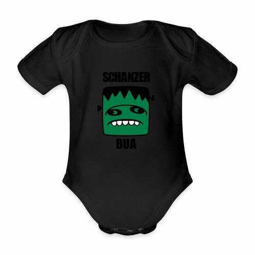 Fonster Schanzer Bua - Baby Bio-Kurzarm-Body