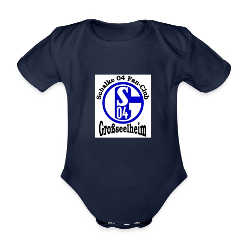 s04logo1 - Baby Bio-Kurzarm-Body