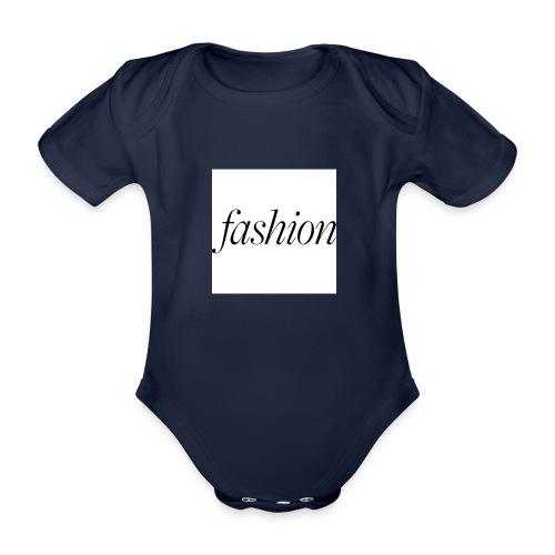 fashion - Baby bio-rompertje met korte mouwen