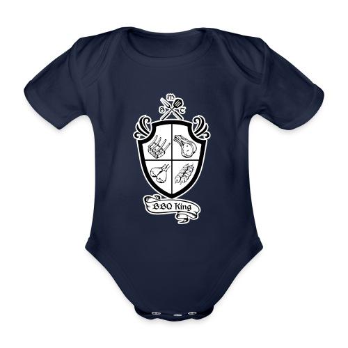 BBQ King - Body ecologico per neonato a manica corta
