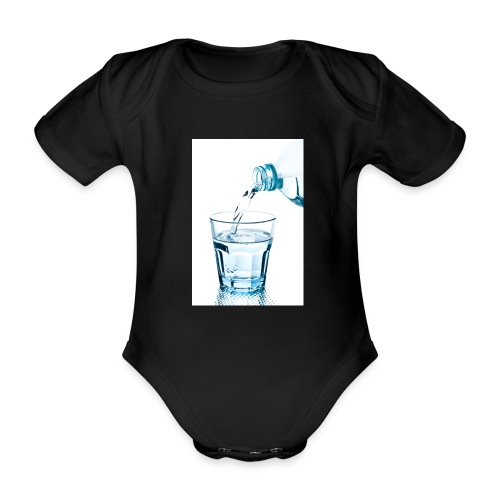 Glas-water-jpg - Baby bio-rompertje met korte mouwen