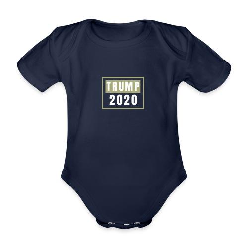 TRUMP 2020 - Ekologiczne body niemowlęce z krótkim rękawem