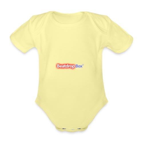 beatdropbox logo final and hires - Baby bio-rompertje met korte mouwen