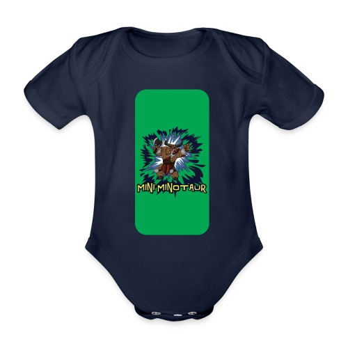 iphone 44s02 - Organic Short-sleeved Baby Bodysuit