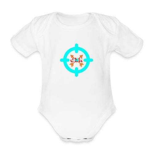 Targeted - Organic Short-sleeved Baby Bodysuit