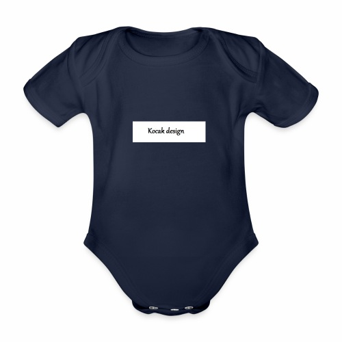 Kocak design - Kortærmet babybody, økologisk bomuld