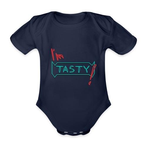 I'm tasty - Baby Bio-Kurzarm-Body