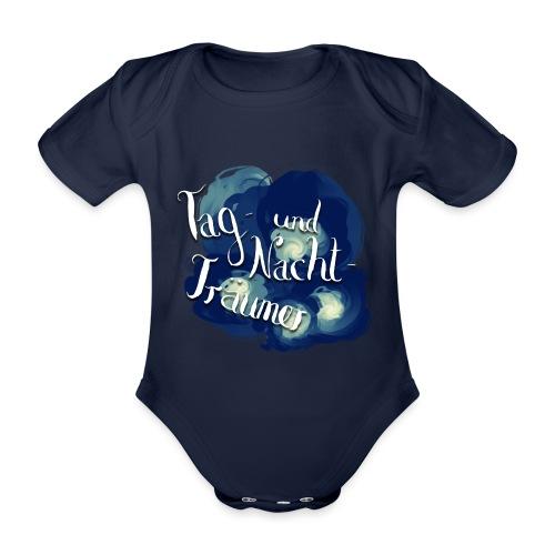 Tag- und Nachtträumer - Baby Bio-Kurzarm-Body