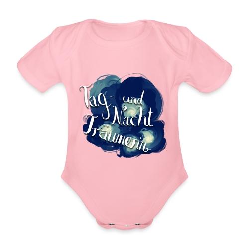 Tag- und Nachtträumerin - Baby Bio-Kurzarm-Body