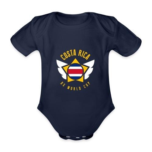 COSTA RICA - STAR POWER - Body orgánico de manga corta para bebé