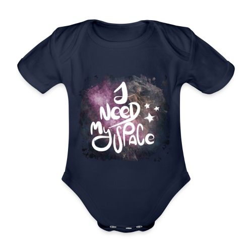 Introvert 1 i need my space - Baby Bio-Kurzarm-Body