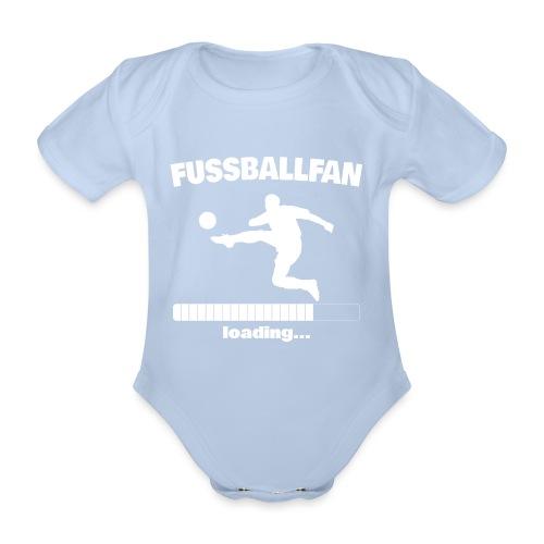 Fussballfan loading... Baby Motiv - Baby Bio-Kurzarm-Body