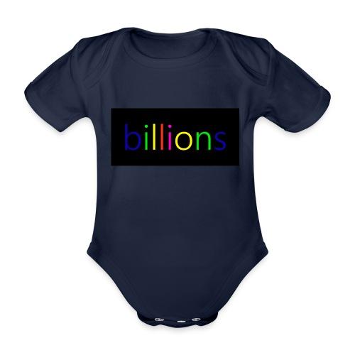 billions - Baby bio-rompertje met korte mouwen