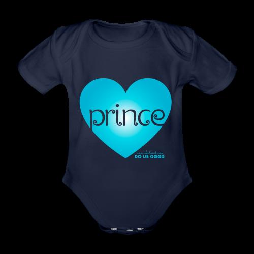 PRINCE - Vauvan lyhythihainen luomu-body
