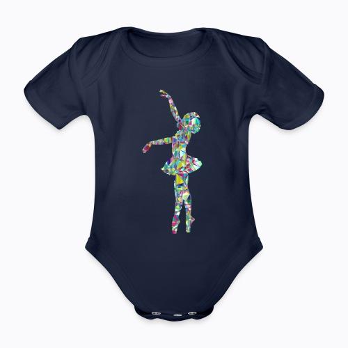 Ballet dancer - Organic Short-sleeved Baby Bodysuit