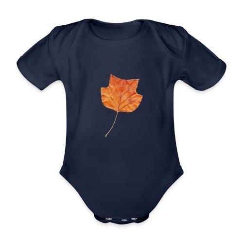Herbst-Blatt - Baby Bio-Kurzarm-Body
