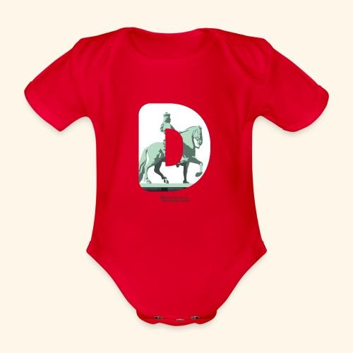 Düsseldorf T-Shirt Jan Wellem D weiß - Baby Bio-Kurzarm-Body