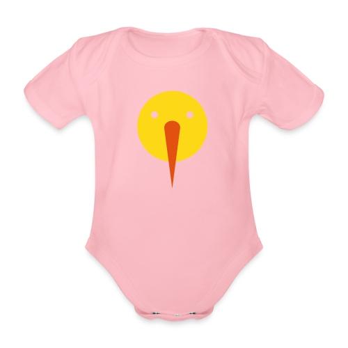 triksnowman - Baby bio-rompertje met korte mouwen