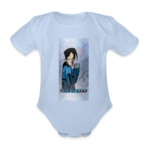 Valp Mobilskal png - Ekologisk kortärmad babybody