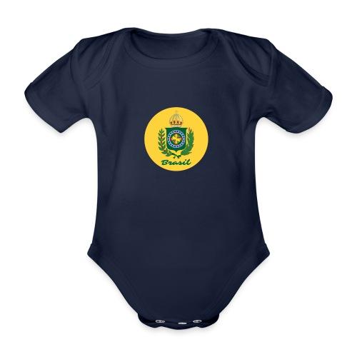 Monarquia Brasil - Økologisk kortermet baby-body